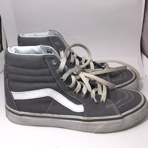 Vans off the wall high tops size 8